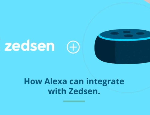 Zedsen with Amazon Echo